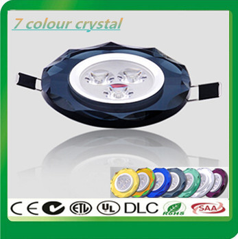 20X High quality Embedded 3W LED Ceiling lamp Crystal LED Downlight Recessed LED lamp With LED Driver For Home Lighting 85-265V<br><br>Aliexpress