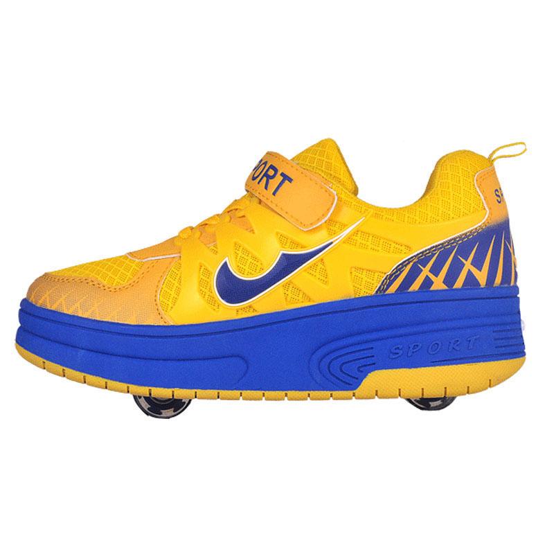 Children heelys roller shoes Sneakers With two Wheel Boys Girls Skate Roller Shoes Men Women Shoes 29-43 Zapatillas Con Ruedas<br><br>Aliexpress