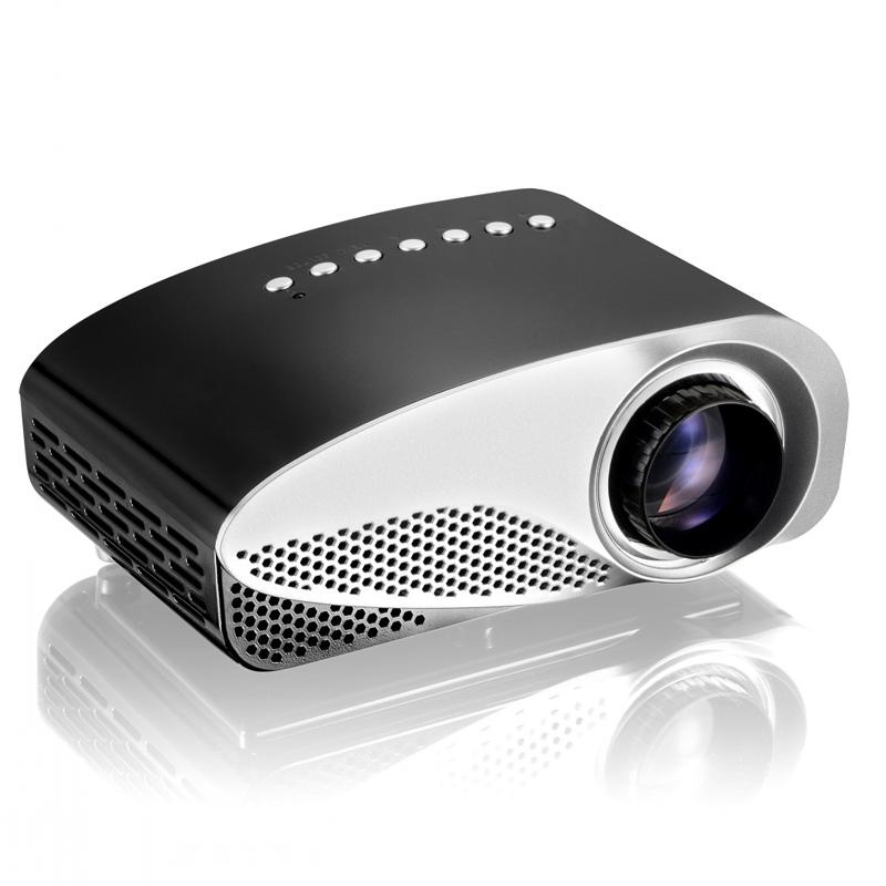 Latest LED Mini Projector Home Multimedia Cinema LED Projectors Support 1080P Decoding with AV TV VGA USB Dual HDMI SD(China (Mainland))