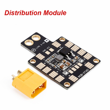 RC Quadcopter FPV Lipo Battery Out 5V/12V 3A PDB Distribution Module with XT60 /T Plug Double BEC For FPV drone