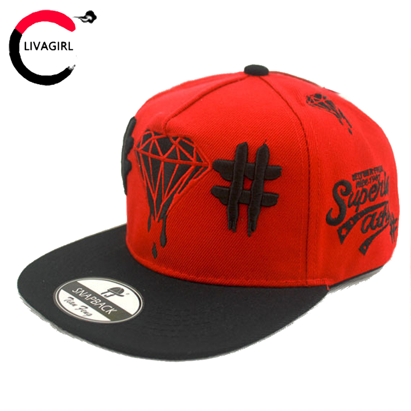 2017 New Baseball Hat Print Diamond Flat Hip Hop Cap Adult Acrylic Embroidery Gorras Planas Casquette for Men and Women(China (Mainland))