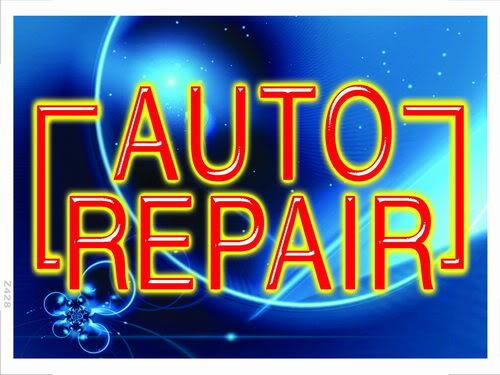 z428 Auto Repair Car Shop Banner Shop Sign(China (Mainland))