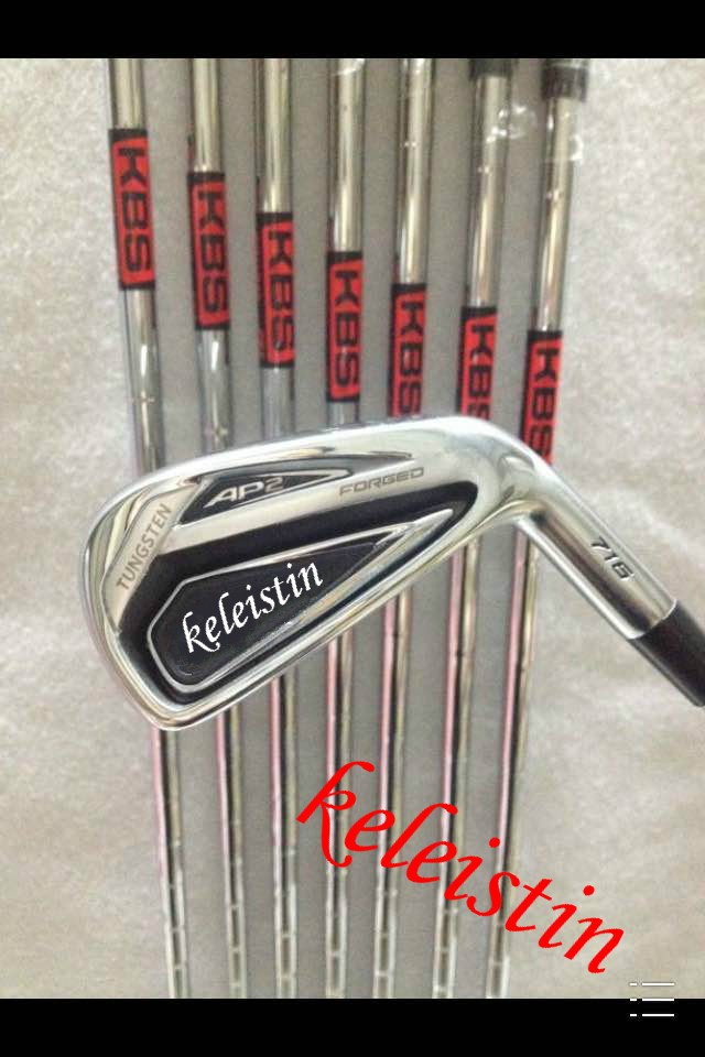 2016hot sell new brand AP Golf Irons 2 Clubs 716 Golf Forged Irons With Steel Shaft Golf 716 Irons Brand golf AP2-716 irons sets(China (Mainland))