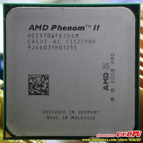 AMD Phenom II X2 570 CPU Processor Dual-Core (3.5Ghz/ 6M /80W / 2000GHz Socket am3 am2+ free shipping 938 pin , sell 550 545(China (Mainland))