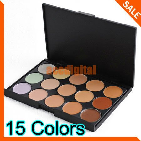 New Concealer Neutral Palette 15 colors makeup tools eye scar cream concealer Camouflage Makeup(China (Mainland))