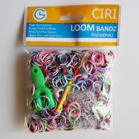 Браслет с брелоками Ciri Mixcolor 600pcs , DIY Bandz 24 s