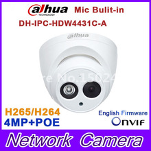 Buy Dahua IPC-HDW4431C-A replace IPC-HDW4421C-A 4MP Network IP Camera IR POE CCTV Mic Built-in H265 H264 dome DH-IPC-HDW4431C-A for $51.50 in AliExpress store