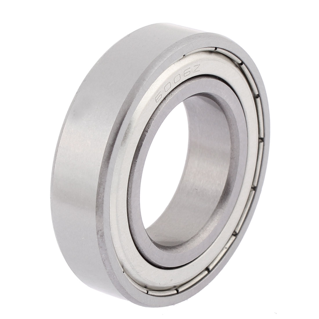 54Mm X 31Mm X 13Mm Double Shielded 6006Z Metal Deep Groove Guide Pulley Rail Ball Wheel Bearings Silver Tone(China (Mainland))