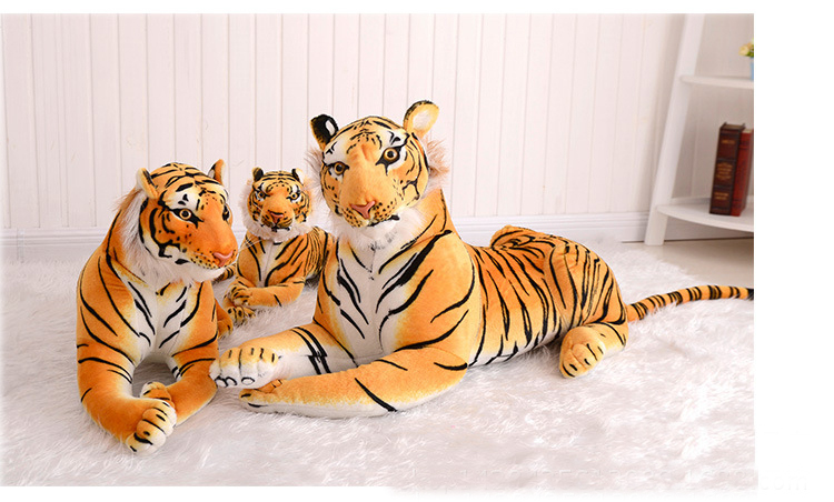 2016 hot dolls Cute tiger dolls toys Kawaii Fashion kids toys Animal Dolls stuff Plush Toys Soft toy juguetes Birthday gift(China (Mainland))