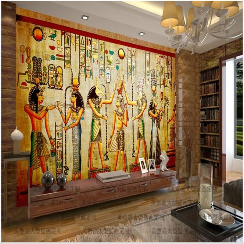 compare prices on egyptian wall murals online shopping