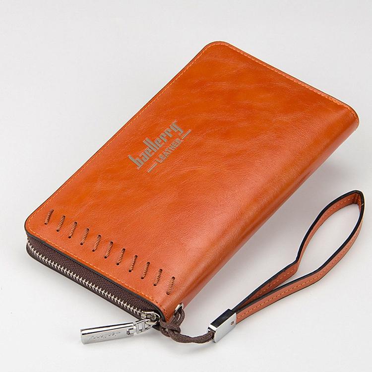 Baellerry деловой мужской клатч кожаный длинный держатель для карт кошелек мужчин 3289932852_1672417541