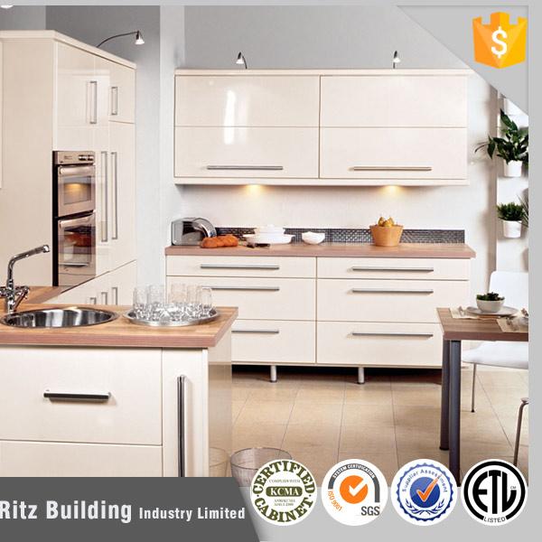 Armario Baño Pared ~ Branco armário de cozinha laca pronto feito em China em Armários de Cozinha de Melhorias na casa