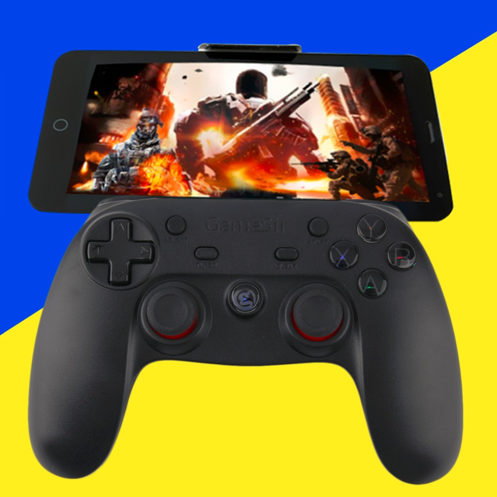 2016 New Arrival Gamesir Gamepad Bluetooth Controller for Android Smart Phone PC Tablet TV Box Newest<br><br>Aliexpress