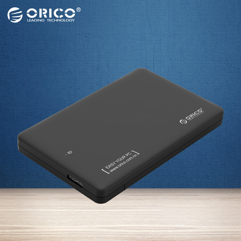 ORICO Sata3.0 To USB 3.0 HDD Case HDD Enclosure Hard Disk Box Tool Free Without Drive for 2.5-Inch SATA HDD/SSD (7mm & 9.5mm)(China (Mainland))