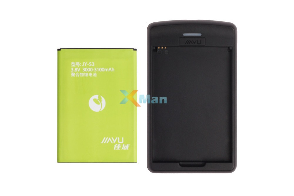 Original Jiayu S3 3000mAh Lithium Polymer Battery Charger battery cover case 3.8V 4G FDD LTE Phone Daisy - XMAN store
