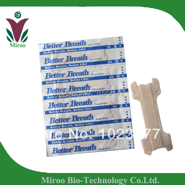 Free shipping CE certificate Medium 55X18mm Breath Better Nasal Strips than Better Right 500pcs/lot(China (Mainland))