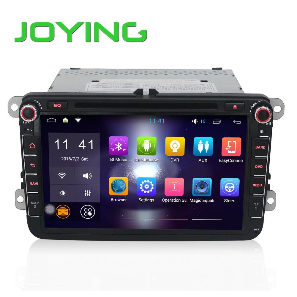 Joying Android Car Radio For VW 8 inch Double 2 Din Car media Player GPS Navigation DVD Player Audio Stereo Auto Head Unit(China (Mainland))