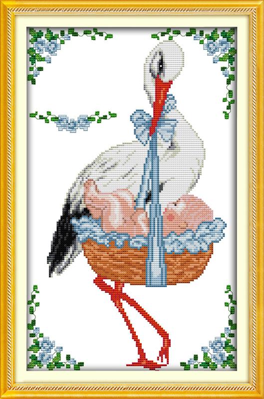 Набор для вышивания рождение схема