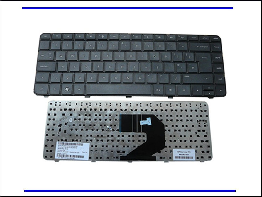 Laptop Keyboard for HP for Pavilion G6-1205AX G6-1C35DX G4-1015TX LQ365PA UK Keyboard Black Replacement Parts (K1678)(China (Mainland))