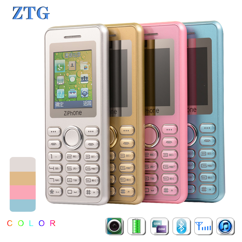 ZTG zipone 6s Ultra Thin Mini mobile phone for student gift pocket credit card cell phone Lady woman phones English Keyboard GSM(China (Mainland))