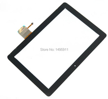 For HUAWEI MediaPad 10 LINK S10-201U S10-201WA New Black Touch Screen Panel Digitizer Sensor Glass Repair Replacement Parts(China (Mainland))