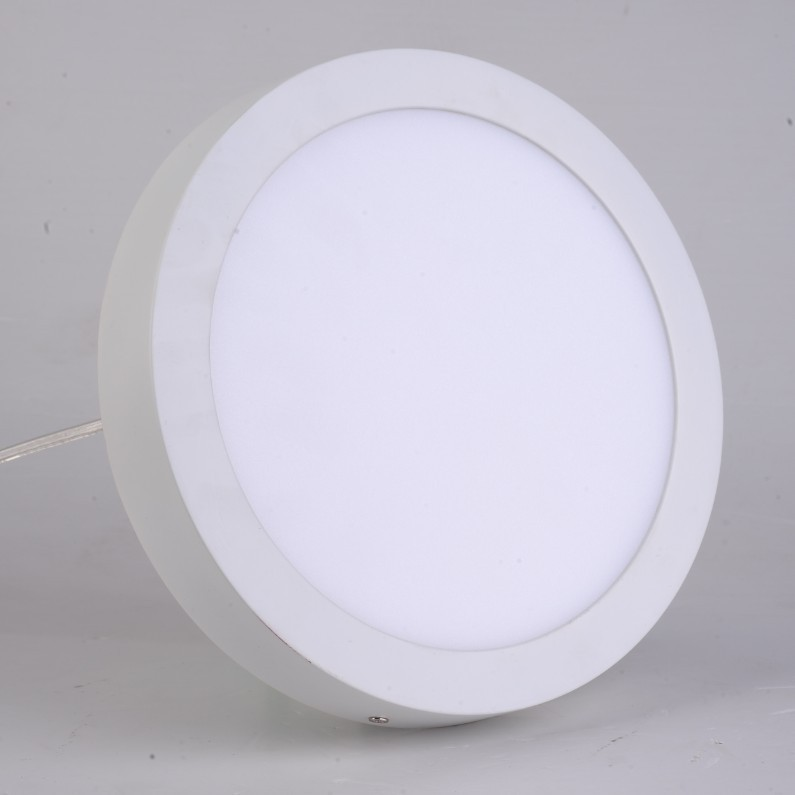 18W Surface mounted led downlight Round panel light smd3014 Ultra thin circle ceiling Down lamp kitchen Bathroom<br><br>Aliexpress