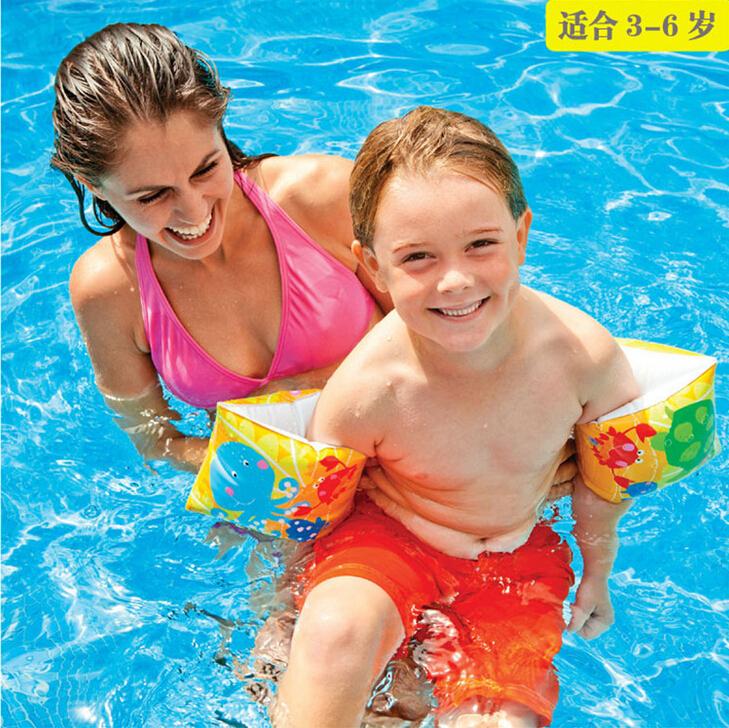 2015 hot sell USA genuine fun fish arm circle children swimming inflatable circle arm circle swimming ring for 3-6 years(China (Mainland))