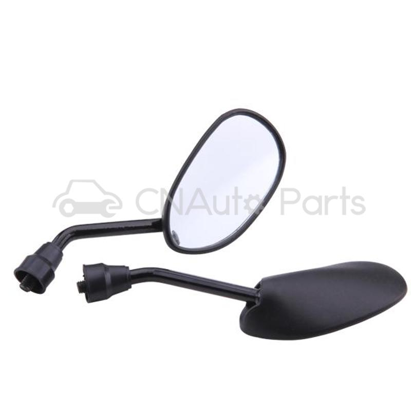 Pair Motorcycle Motorbike Side Rear View Mirror 8mm Black<br><br>Aliexpress