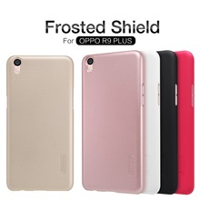 Buy Nillkin Super Frosted Shield Phone Cases Plastic Hard Back Cover OPPO R9 plus screen protector cover case free for $7.19 in AliExpress store