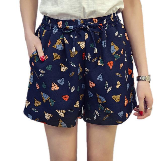 Xl-5xl большой размер шорты для женщин летний стиль свободного покроя разбалтывания ...