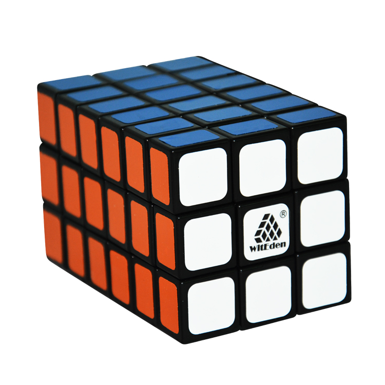 Witeden 3*3*6 Cube WitEden 3x3x6 Tower (Difficulty 9 of 10) Fully Functional Puzzle Cube Black(China (Mainland))