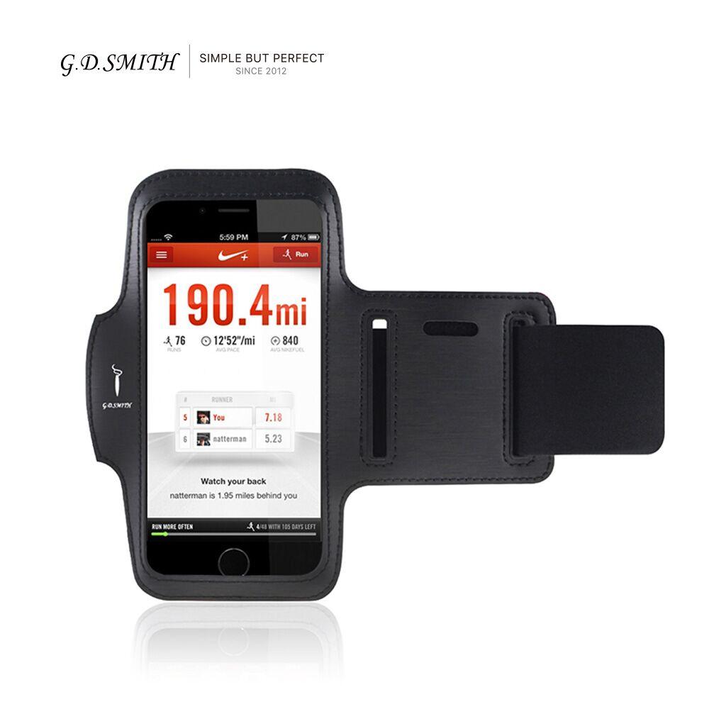 G.D.SMITH Brand Universal Sports Armband for iPhone 5s SE 6 6s Samsung Xiaomi Luxury PU Brassard 4.7 inch Phone Case 2016 New(China (Mainland))