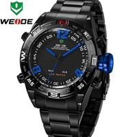 Casual WEIDE Sport Watches for Men Waterproof 30m Digital Analog LED Display Dual Time Militar Back Light Clock Men Watch WH2310