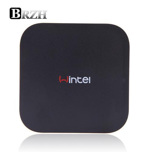 Wintel CX-W8 TV Box Windows 10 & Android 4.4 Dual OS TV Box Intel Atom Z3735F Quad Core Mini PC Windows 10 2GB/32GB Bluetooth