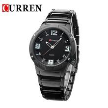 2015 CURREN Fashion & Casual Watch Mens Watches Top Brand Luxury Men Full Steel Business Quartz Wrist watch Relogio Masculino