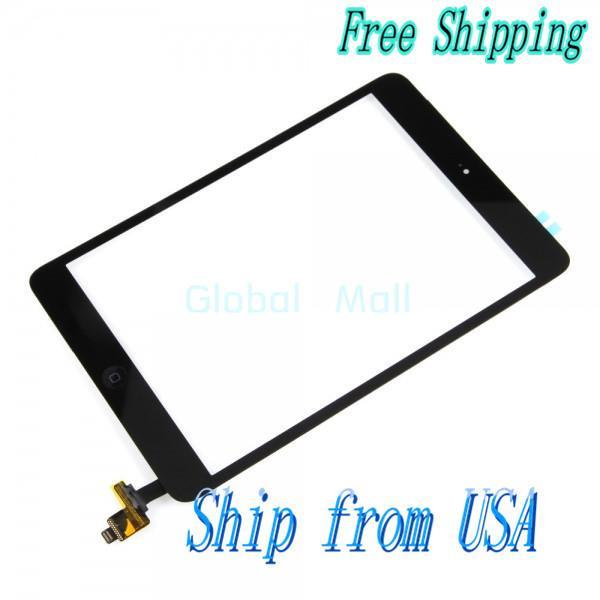 Ship From USA Touch Screen Assembly for iPad Mini Black 87010550(China (Mainland))