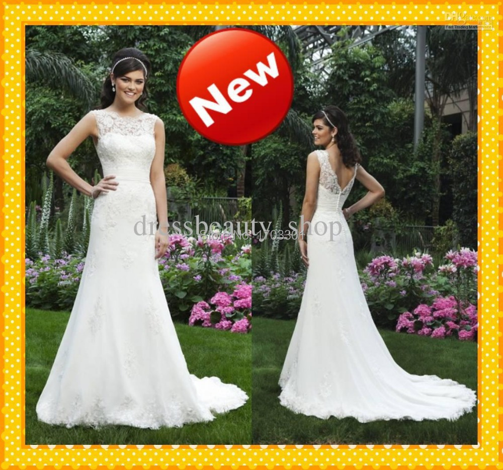 Simple outdoor wedding dress reviews online shopping for Aliexpress wedding dress reviews