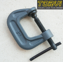 """free shipping G clamp woodworking tools D-shaped clip 1"""" inch C sub-type rocker clamp fixture FG"""