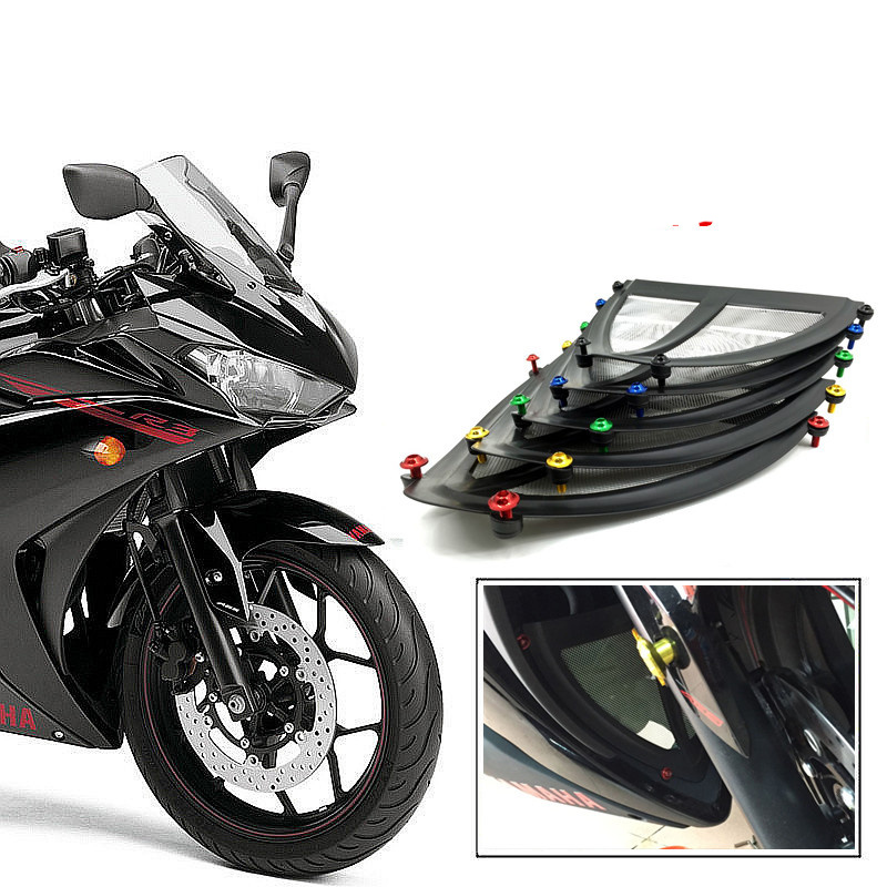 For Yamaha YZF R3 R25 2015 2016 Radiator Lower Grill Protector<br><br>Aliexpress