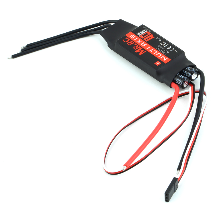 F15626 MR.RC 40A ESC Speed Controller 2-3s 3A/5V BEC As EMAX Hobbywing for DIY FPV RC Quadcopter Multi axle Helicopter Airplane(China (Mainland))