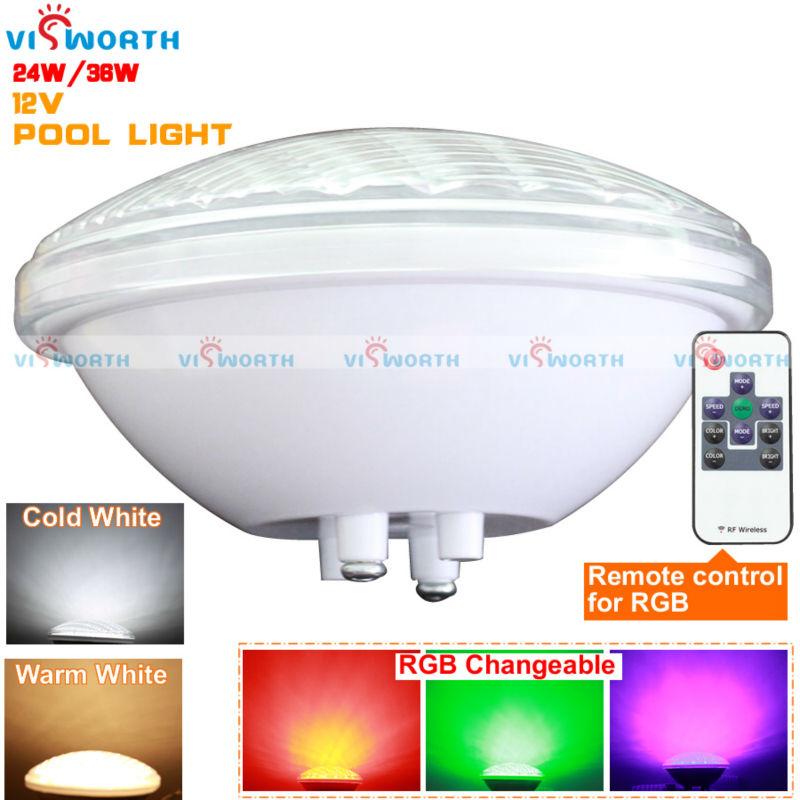 par56 led swimming pool bulb 12v ac dc lamp 24w 36w. Black Bedroom Furniture Sets. Home Design Ideas