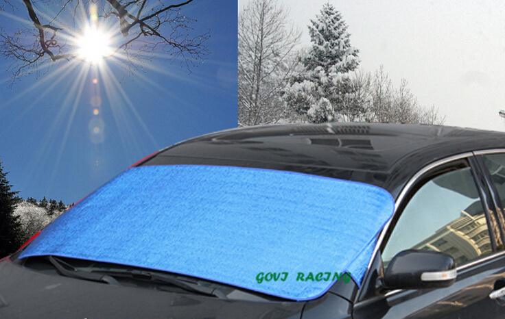 aluminum foil 150*70cm car sun shade car window sunshade car curtain UV Protect Car Film auto gordijn cortina para automoveis(China (Mainland))