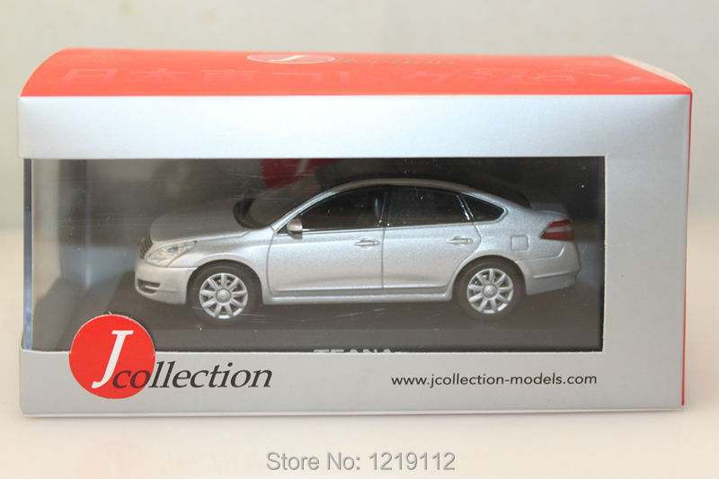 Toy car 1/43 J-collection Nissan Teana 250 XV car models out of print collections silver(China (Mainland))