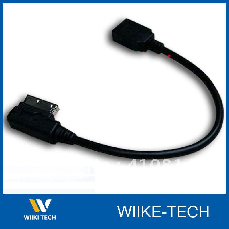 V.W MDI USB Aux Input Cable Adapter For Jetta/GTI/GLI/Golf/Passat/Tiguan/Touareg<br><br>Aliexpress