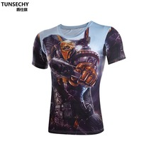 Iron Man Hottoys T Shirt Captain America Civil War Tee 3D Printed T-shirts Men Marvel Avengers Fitness Male Sport Crossfit Tops