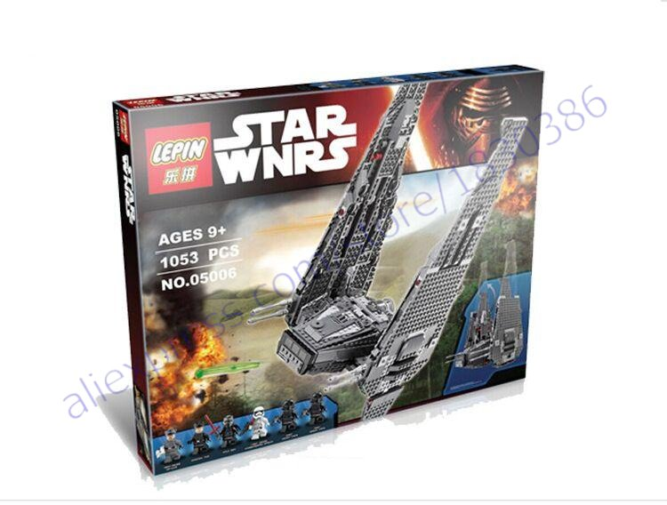 New 2016 Star Wars Force Awakens First Order Special Forces Kits TIE Fighter Building Blocks Model Sets Toys Compatible<br><br>Aliexpress
