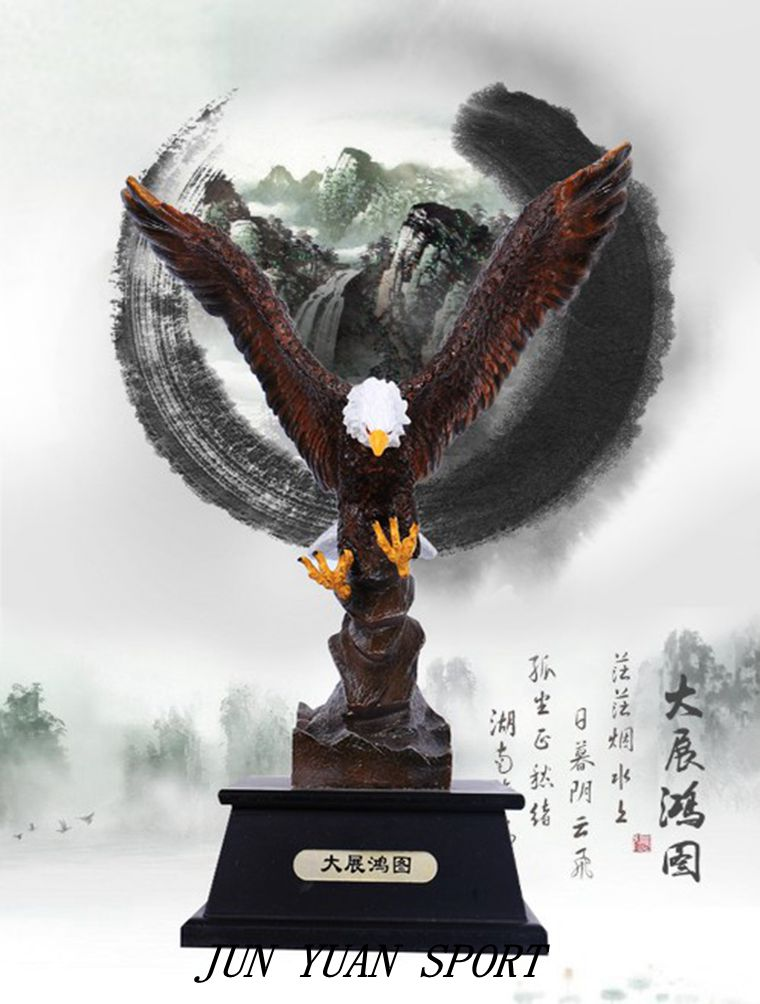 Compare prices on horse trophies online shopping buy low for Eagle decorations home