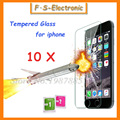 10pcs 0 3mm 9H Super Thin Tempered Glass Film for iPhone 7 6 6s plus 5