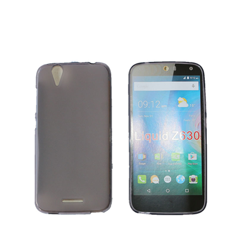 Z630 Case Covers New Soft TPU Gel Skin Pudding Back Cover For Acer Liquid Z630 Cellphone Cases(China (Mainland))