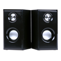 USB Multimedia Speakers w Stereo Sound for Desktop Laptop Multiple Devices L3FE